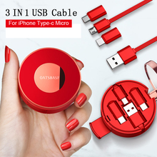 OATSBASF USB Cable For oppo find x iPhone XS Max XR iPad Air X Charging Type C for one Plus 5T 6T 6 Huawei mate 20 pro
