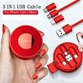 USB кабель OATSBASF для oppo find x iPhone XS Max XR iPad Air X  зарядный кабель type C для one Plus 5T 6T 6 huawei mate 20 pro