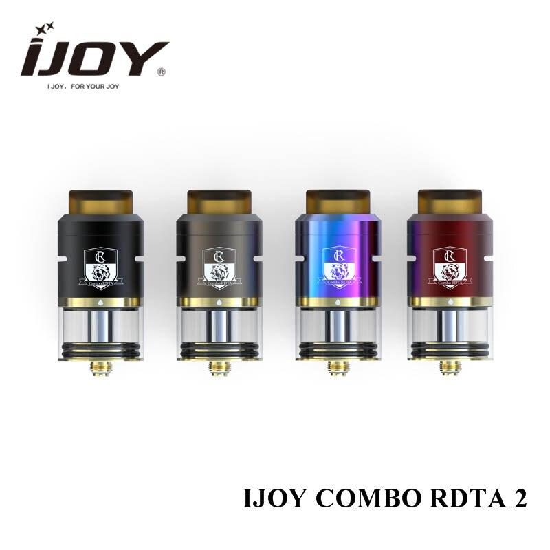 original IJOY Combo RDTA 2 e cigarette tank update ijoy combo RDTA with IMC deck system IMC-10 IMC-coil 3 DIY vape