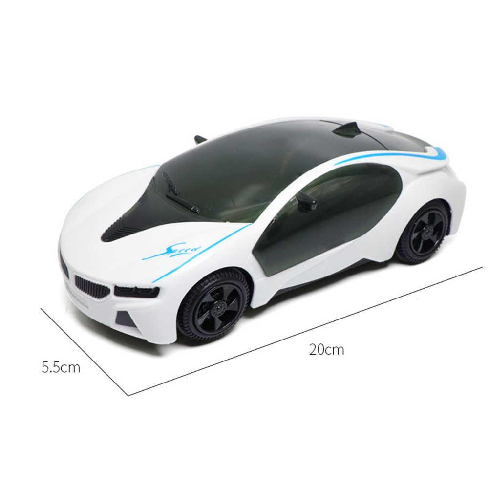 Elettrico 3D HA CONDOTTO LA Luce di Musica tirare indietro auto Sportive Auto per bambini Giocattoli Auto modello Supercar Dei Capretti Dei Bambini Di Puzzle Giocattoli per regalo dei bambini