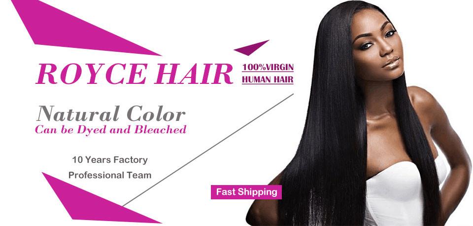 1 brazilian straight hair