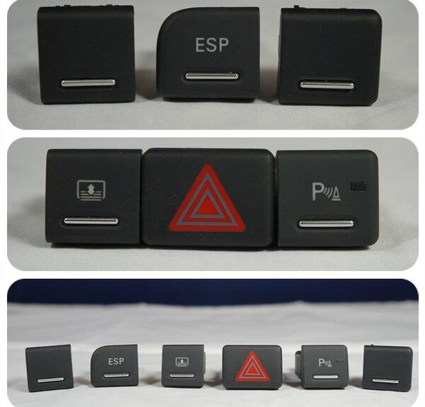 ESP Switch Danger Demist Switch Button For Audi A4 B6 B7 ( 1 Piece )