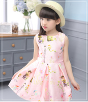 Baby Girl Boy Clothes Kid Girls Wear Sleeveless S New Children Princess Girl Summer Spring And