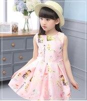 Baby Girl Boy Clothes Kid Girls Wear Sleeveless S New Children Princess Girl Summer Spring And