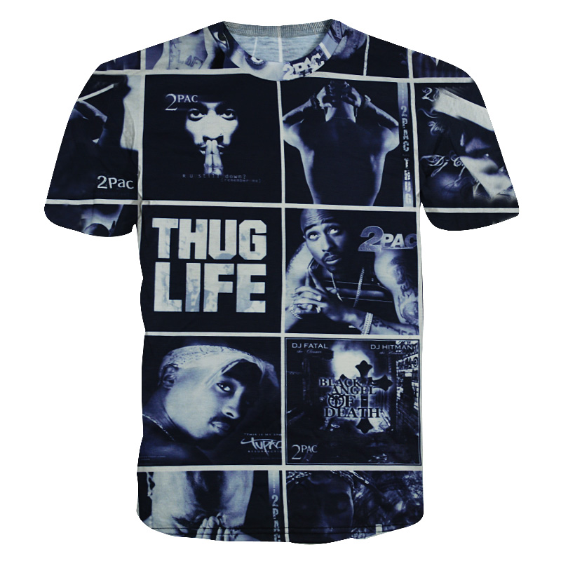 Mens Vintage Hip HOP Printed T-Shirts Tupac Shakur from $ 17 5 out of 5 stars 4. FLEA ALLEY. Mens Vintage Hip HOP Printed T-Shirts Memory of Tupac. from $ 17 5 out of 5 stars 2. Unknown. Dorathy Funny Head Doge Shiba Inu T Shirts Animal 3D Tshirt. from $ .