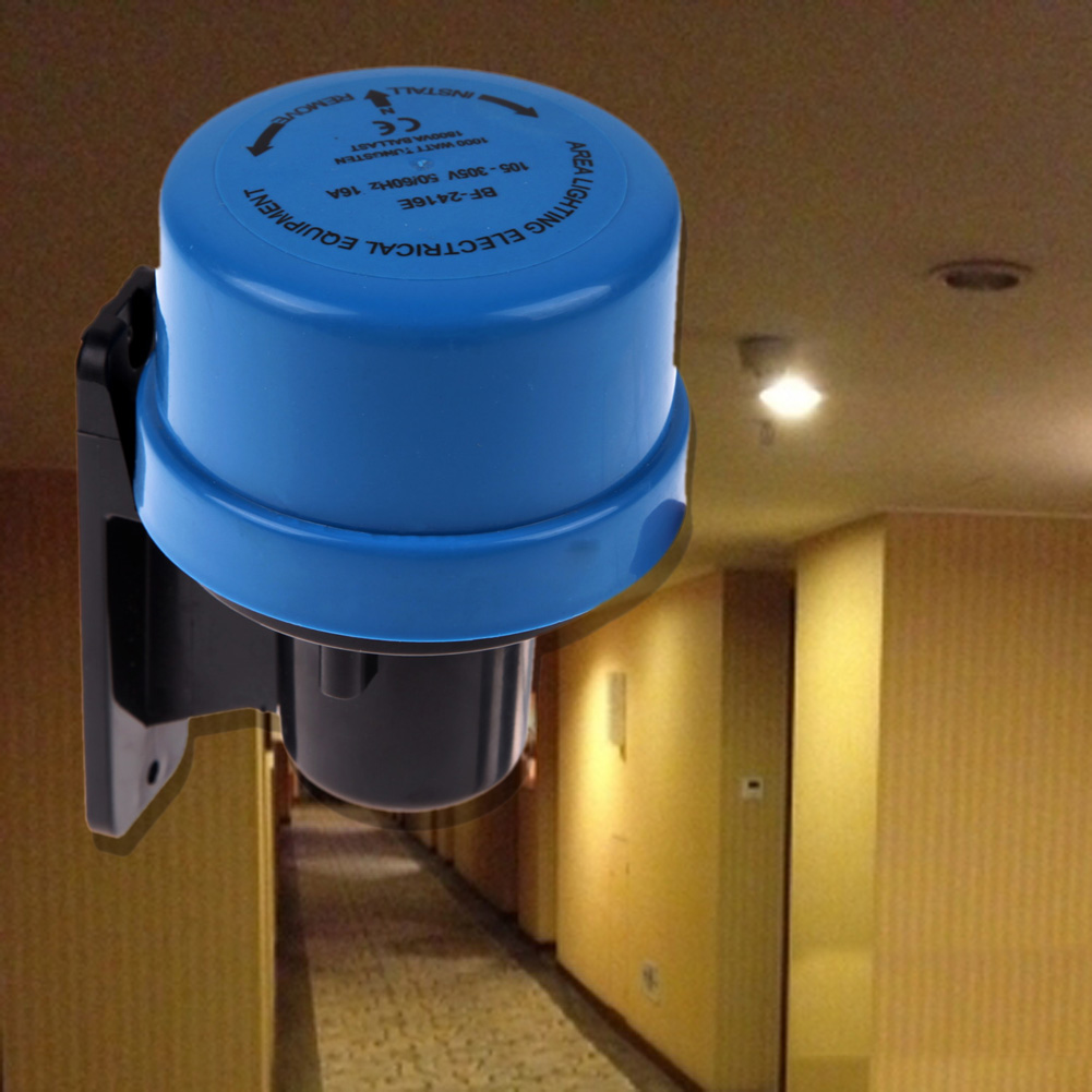 Ac105 305v Light Sensor Switch Timer Daylight Dusk Till Photoelectric For Outdoor Lights 1 X Bag Of Screws
