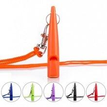 Собачий свисток для останова лая-ультразвуковой патрульный звук с веревкой аксессуары для домашних животных, собак 6 цветов