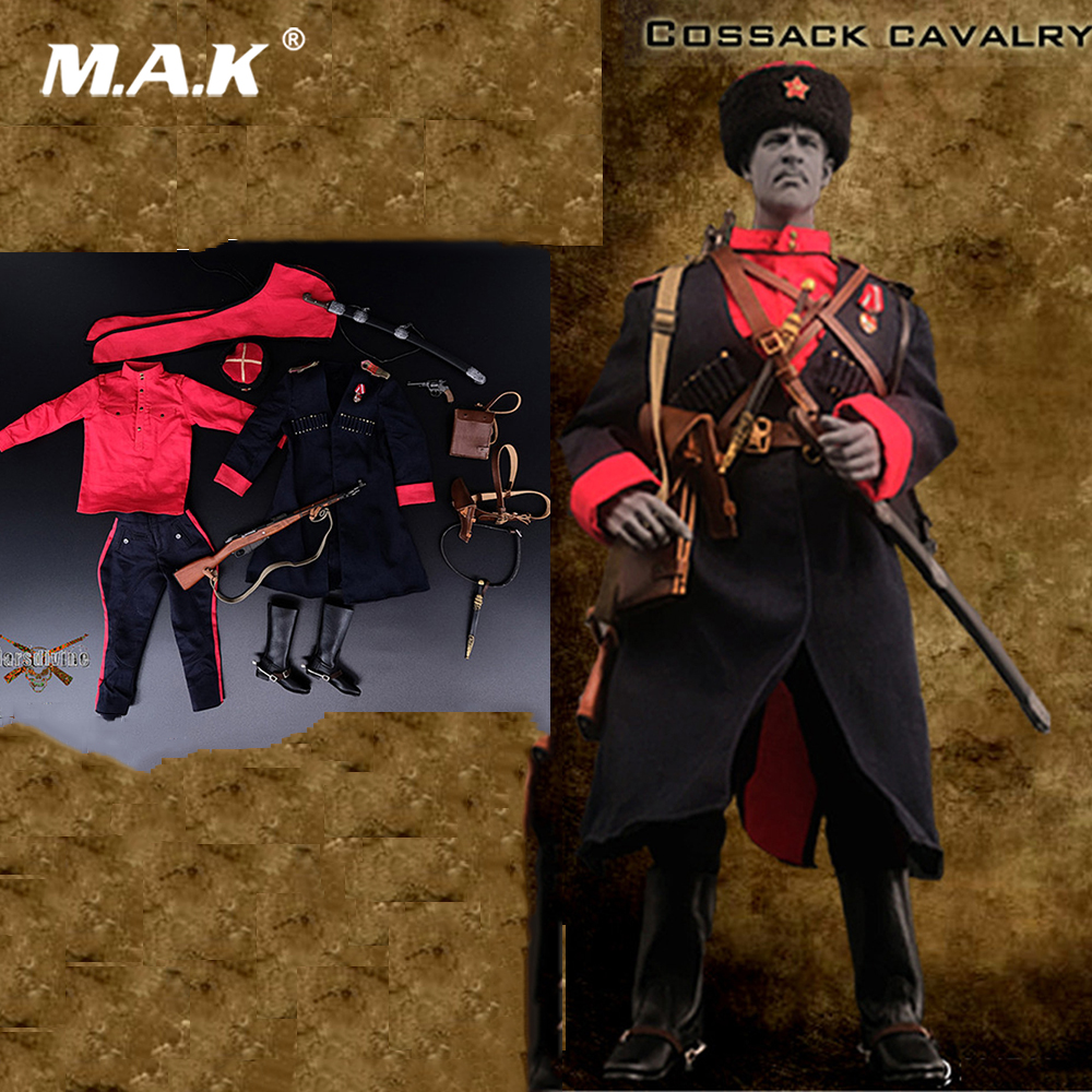 1/6 Soldier Clothes Set WWII Soviet Cossack cavalry set No:001 For 12 Inches Action Figures 1 6 male clothes set military uniform wwii soviet army cossack cavalry clothes suit for 12 inches man action figure accessory