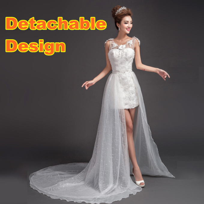 HK2342F Hot China Dress Shop Organza Detachable Skirt