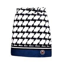 Женская юбка для гольфа, летняя, дышащая, в клетку, для тенниса, спортивные, шорты, юбки, брендовая, женская, удобная, тонкая, для гольфа, юбки, AA60479