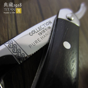 Image 3 - free shipping sharping razor TITAN wood handle  mans razor stainless steel balde