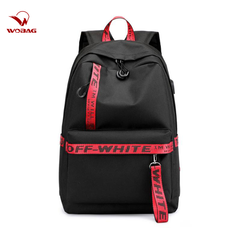 New Waterproof Nylon Women Travel Backpack Time Fashion Solid Color Boys Girls School Bags College Students Laptop Bag