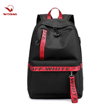 New Waterproof Nylon Women Travel Backpack Time Fashion Solid Color Boys Girls School Bags