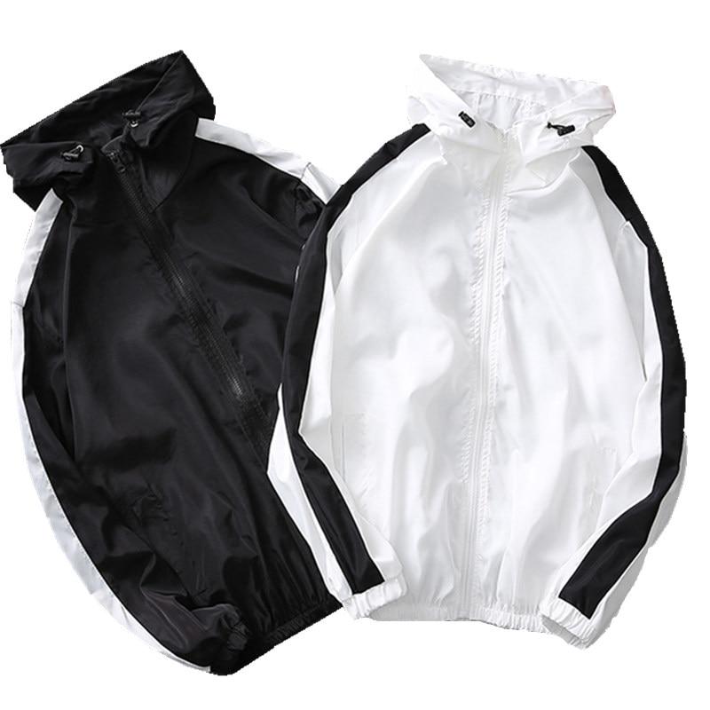 201 Männer Casual Sport Port Wind Japanischen Paar Modelle Druck Kontrast Farbe Jacke K936
