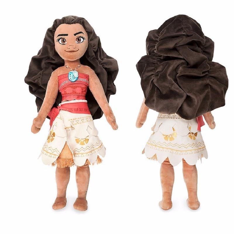 2017 New Movie Moana Cute Lovely Princess Moana Kawaii 25-50cm Moana Waialiki  Pig Pua Heihei Chicken Plush Dolls Princess Toys