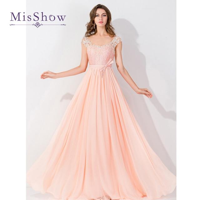 Perla elegante Vestido de Los Vestidos de Noche de Color Rosa ...