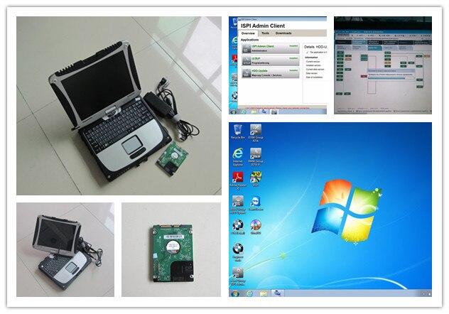 newest for bmw icom software with laptop toughbook cf19 cf-19 ram 4g hdd 500gb ista expert mode 2017.05 windows 7 super  цены