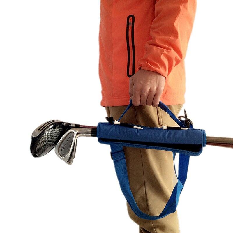 Golf Club Tasche Träger Driving Range Reise Gfit Farbe Schwarz Blau Rosa für Kinder Männer Frauen Value Pack