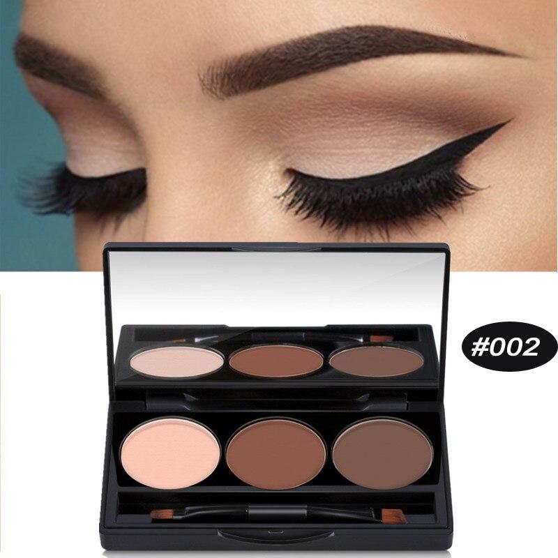 Eyebrow Enhancer Natural Eyebrow Powder 3 Colors Perfect ...