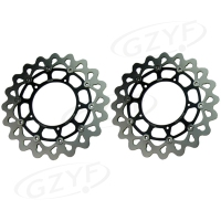 Motorcycle Front Brake Disc Rotors For Yamaha FZ1 06 14 FZ1 FAZER ABS 06 12 YZF