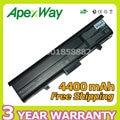 Apexway 6 celdas de batería portátil para dell inspiron 1318 xps m1330 pu563 pu556 wr050 tt485 312-0566 312-0567 312-0739 451-10473