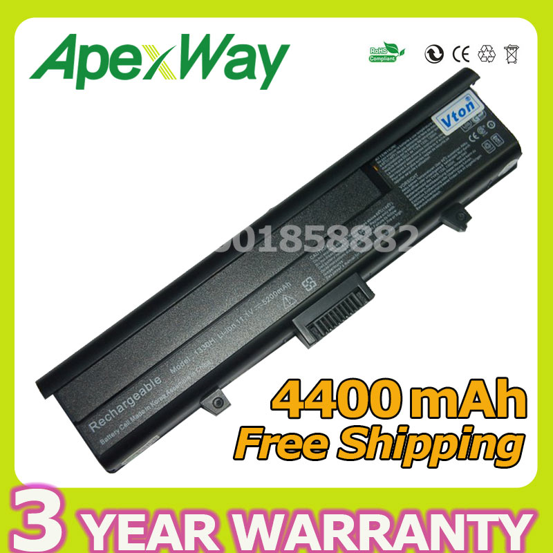 Apexway 6 cells Laptop Battery for Dell Inspiron 1318 XPS M1330 PU556 PU563 TT485 WR050 312-0566 312-0567 312-0739 451-10473 golooloo battery for dell inspiron 1525 1526 1545 1546 312 0626 312 0634 312 0633 312 0763 312 0844 451 10534 c601h cr693