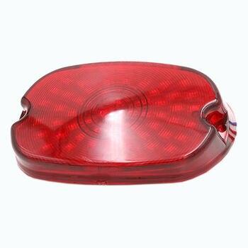 Motocykl czerwony kierunkowskaz hamulca lampa tylna do harleya Sportster 1200 883 XL
