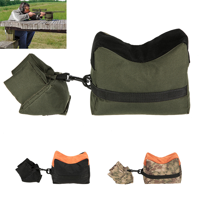 Military Rifle Gun Rest Sandbag Tactical Accessories Front & Rear Bag Unfilled Support