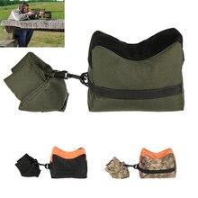 Military Rifle Gun Rest Sandbag Tactical Rifle Gun Accessories Front & Rear Bag Unfilled Support Bag