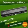 Jigu nova série da bateria do portátil para hp pavilion dv5 dv5-1000 dv5-1100 dv5-1200 dv5-1300 dv5-2000 dv5t dv5z-1000