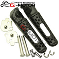 Front & Rear Footrest Foot Pegs For Honda CBR600RR F5 CBR1000RR CBR929/954 VFR800