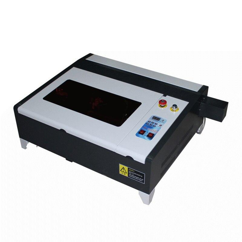 Мини ЧПУ для лазерной гравировки LY 4040 co2 лазерной резки 50 Вт