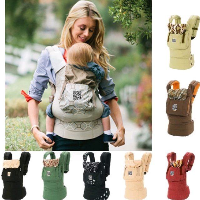 Ergonomic 360 All Carry Positions Baby Carrier Breathable Front Facing Infant Comfortable Sling Backpack Pouch Wrap Kangaroo Bag