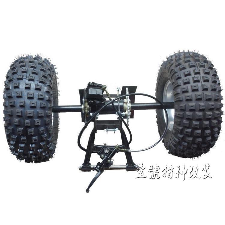 Back To Search Resultsautomobiles & Motorcycles Diy Four Wheel Go Kart Karting Atv Utv Buggy Sprocket 85cm Rear Axle