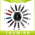 20mm nylon reloj banda para samsung gear s2 classic r732 y r735 moto 360 2 42mm hombres correa de la tela otan pulsera de múltiples colores + herramienta
