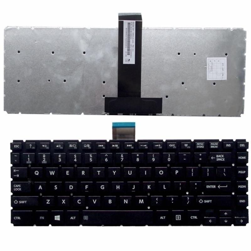 for Toshiba Satellite L40-B L40D-B L40DT-B L40T-B L45-B White US Laptop Keyboard