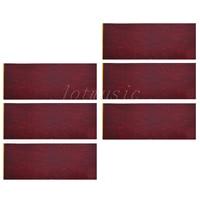 6pcs 18*46cm Adhesive Acoustic Pickguard Material Scratch Plate Soft