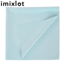 Imixlot 1PC 40x40cm High Quality Chamois Eyeglasses Cleaning Cloth for Unisex Simple Fashion