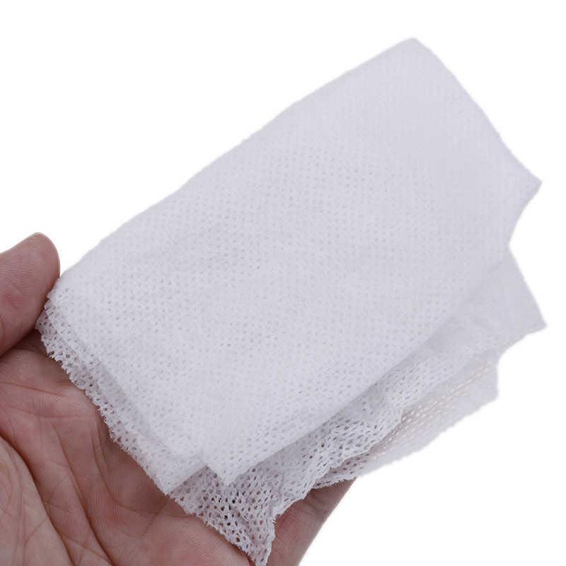 ใหม่ 50 ชิ้น/ล็อตกลางแจ้ง Magic Compressed ผ้าฝ้ายผ้าเช็ดตัวแท็บเล็ตแคปซูลผ้าเช็ดทำความสะอาดผ้ากระดาษหน้ากาก