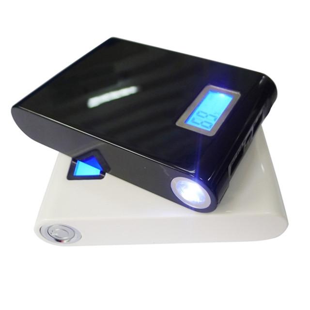Banco de la energía 12000 mAh Powerbank Batería para todo el teléfono Móvil de Reserva Externa Del USB Cargador Universal 4*3000 mah (18650 de la batería)