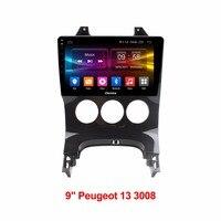 HD Android 6.0 Octa core 2 ГБ Оперативная память + 32 ГБ Встроенная память dvd плеер автомобиля для Peugeot 3008 2009 2013 GPS Радио стерео BT TPMS dab +