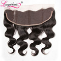 TOP Malaysian Body Wave Hair Lace Frontal Closure 13''x4'' Ear to Ear Malaysian Virgin Hair Body Wave Lace Frontals Hair Closure