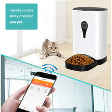Auto Pet Feeding Machine House Smart Feeder Dog Cat Food Dispenser 4.5L Large Capacity APP Control Training Feeding Plan Useful