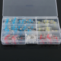 120Pcs Soldering Connector With Shrink Tube Electrical Wire Splice Insulated Cable Electronic Terminal Waterproof Drop Shipping