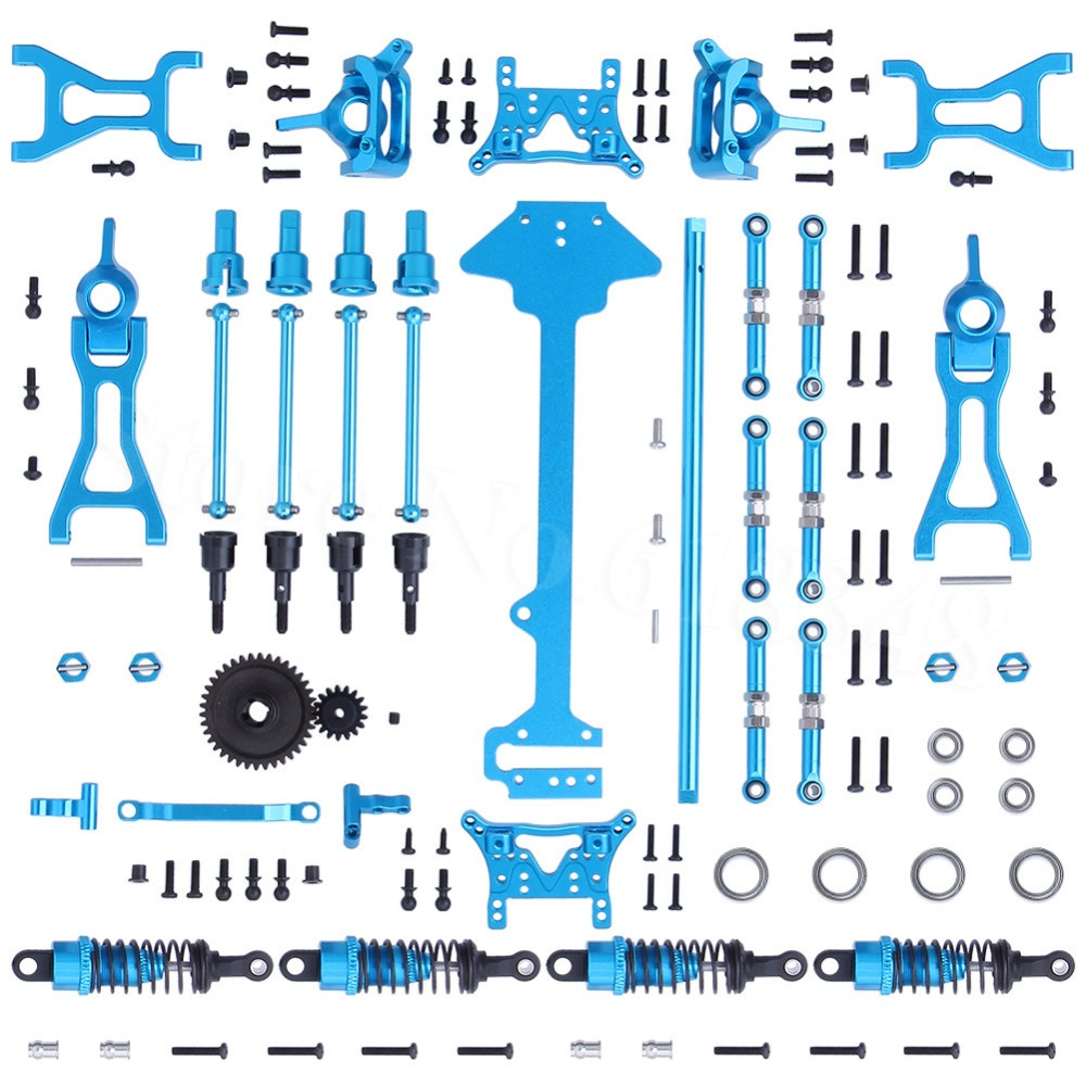 1 Set Complete Upgrade Parts Kit For Wltoys A959 Vortex 1/18 2.4G 4WD Electric RC Car Off Road Buggy Hop Up Fit A969 a979-in Parts & Accessories from Toys & Hobbies    1