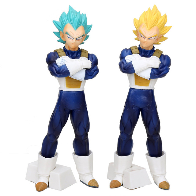 24 CENTÍMETROS Dragon Ball Super Saiyan Deus SS Vegeta B Prêmio Figura Collectible Toy Modelo