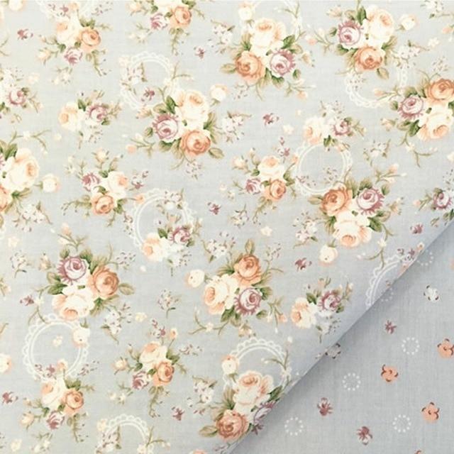 100 Coton Serge Tissu Elegant Gris Marron Rose Tissus Pour