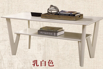 Contracted sitting room tea table solid wood small family modern small tea table The simple fashion
