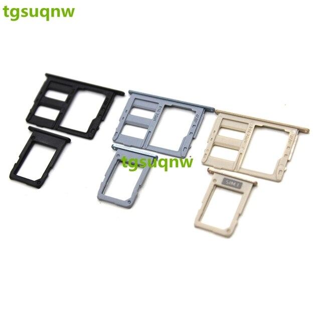 Samsung J5 Sd Karte.Us 1 9 Single Sim Sim Micro Sd Card Tray Slots Part For Samsung Galaxy J7 2017 J730 J5 J530 Sim Card Tray In Mobile Phone Flex Cables From