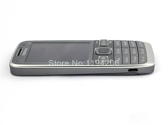 US $65 89 |Original E52 Nokia Mobile Phone Bluetooth WIFI GPS 3G Cell Phone  Refurbished with and Arabic Russian keyboard-in Mobile Phones from